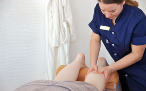 Massage på benen